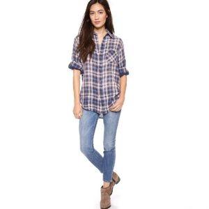 Current/Elliott Distressed Skinny Jeans - Size 27
